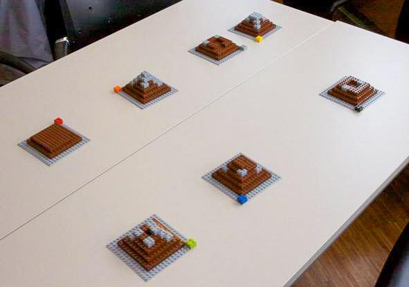 Projektsimulation Lego